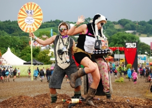 Glastonbury Revellers 1